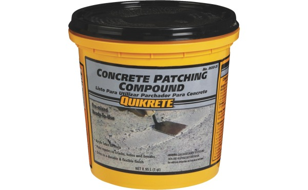 Quikrete 1 Qt Pre-Mixed Gray Concrete Patch