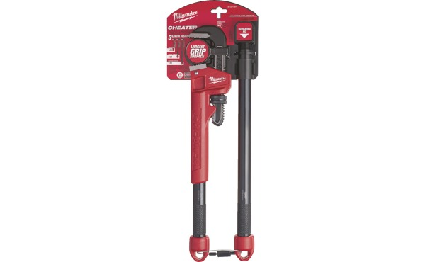 Milwaukee Cheater Pipe Wrench