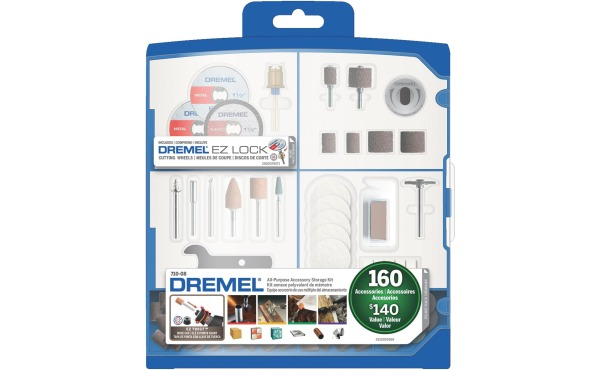 Dremel 160-Pc. Rotary Tool Accessory Kit