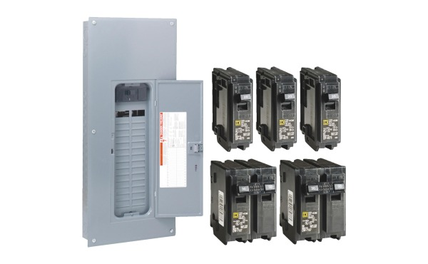 Square D Indoor Main Breaker Neutral Load Center