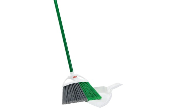 Libman Precision Angle Broom w/Dustpan