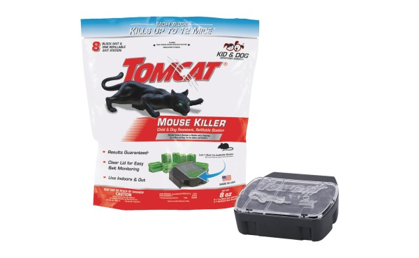 Tomcat Mouse Killer Refillable Mouse Bait Station