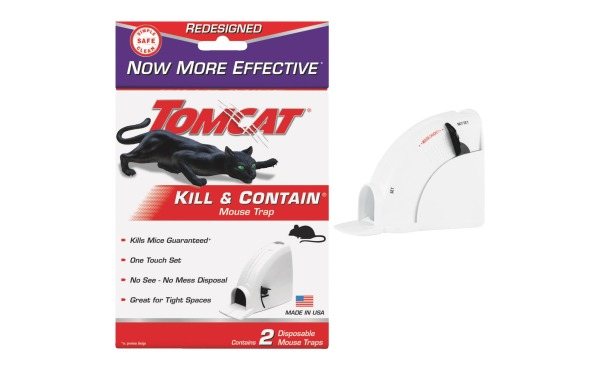 Tomcat Kill & Contain Mouse Trap (2-Pack)