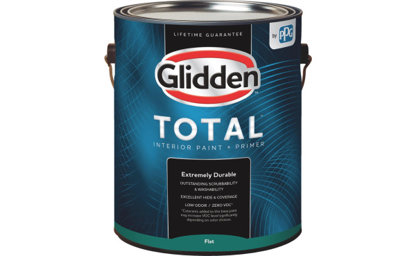 Glidden Total Interior Paint + Primer 1 Gal.