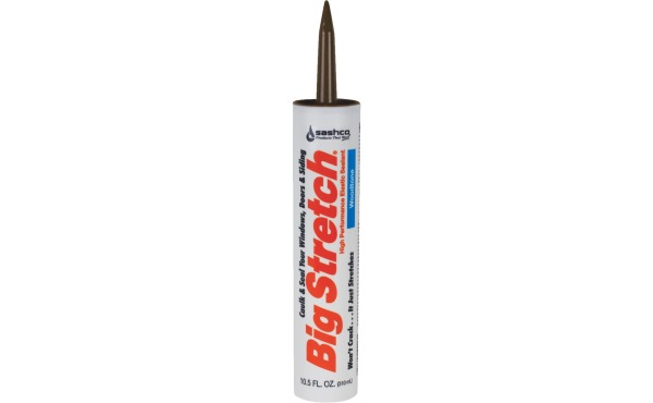 Sashco Big Stretch 10.5 Oz. Acrylic Elastomeric Caulk